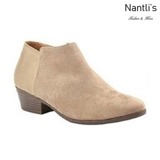 AN-Bradee-07 Taupe Botas de mujer Mayoreo Wholesale womens Boots Nantlis