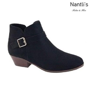 AN-Bradee-30 Black Botas de mujer Mayoreo Wholesale womens Boots Nantlis