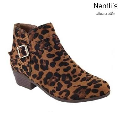 AN-Bradee-30 Leopard Botas de mujer Mayoreo Wholesale womens Boots Nantlis