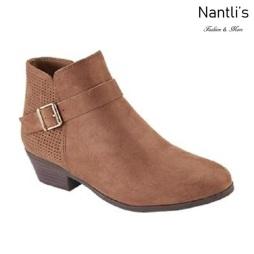 AN-Bradee-30 Tan Botas de mujer Mayoreo Wholesale womens Boots Nantlis