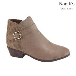 AN-Bradee-30 Taupe Botas de mujer Mayoreo Wholesale womens Boots Nantlis