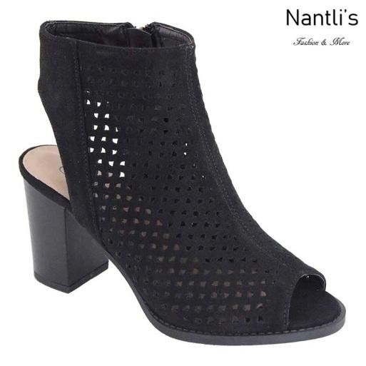 AN-Canal Black Zapatos de Mujer Mayoreo Wholesale Women Shoes Nantlis
