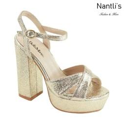 AN-Carolina Gold Zapatos de Mujer Mayoreo Wholesale Women Shoes Nantlis