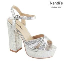 AN-Carolina Silver Zapatos de Mujer Mayoreo Wholesale Women Shoes Nantlis
