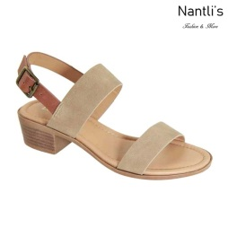 AN-Debbie-3 Taupe Zapatos de Mujer Mayoreo Wholesale Women Shoes Nantlis