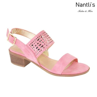 AN-Debbie-5 Coral Zapatos de Mujer Mayoreo Wholesale Women Shoes Nantlis