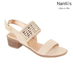 AN-Debbie-5 Nude Zapatos de Mujer Mayoreo Wholesale Women Shoes Nantlis