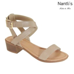 AN-Debbie-8 Taupe Zapatos de Mujer Mayoreo Wholesale Women Shoes Nantlis