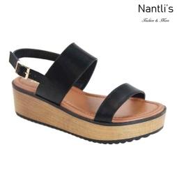 AN-Docia-1 Black Zapatos de Mujer Mayoreo Wholesale Women Shoes Nantlis