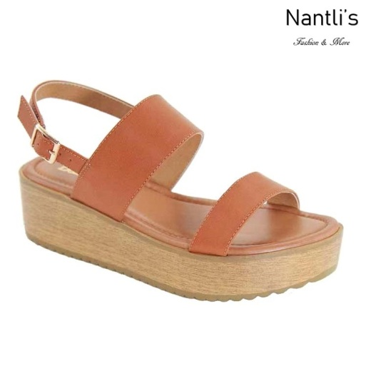 AN-Docia-1 Tan Zapatos de Mujer Mayoreo Wholesale Women Shoes Nantlis