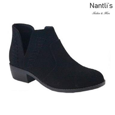 AN-Essie-15 Black Botas de mujer Mayoreo Wholesale womens Boots Nantlis