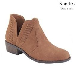 AN-Essie-15 Chestnut Botas de mujer Mayoreo Wholesale womens Boots Nantlis