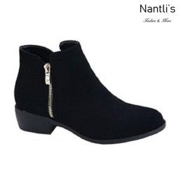 AN-Essie-6 Black Botas de mujer Mayoreo Wholesale womens Boots Nantlis