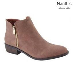 AN-Essie-6 Tan Botas de mujer Mayoreo Wholesale womens Boots Nantlis