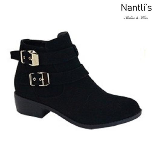 AN-Essie-8 Black Botas de mujer Mayoreo Wholesale womens Boots Nantlis