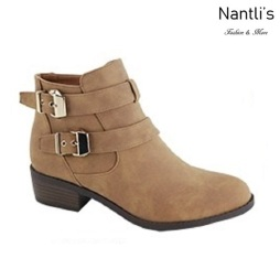 AN-Essie-8 Chestnut Botas de mujer Mayoreo Wholesale womens Boots Nantlis