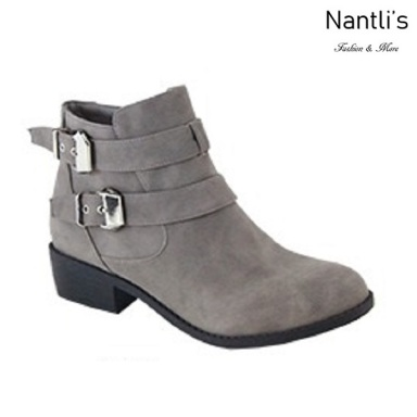 AN-Essie-8 Grey Botas de mujer Mayoreo Wholesale womens Boots Nantlis