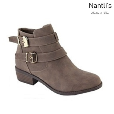 AN-Essie-8 Taupe Botas de mujer Mayoreo Wholesale womens Boots Nantlis