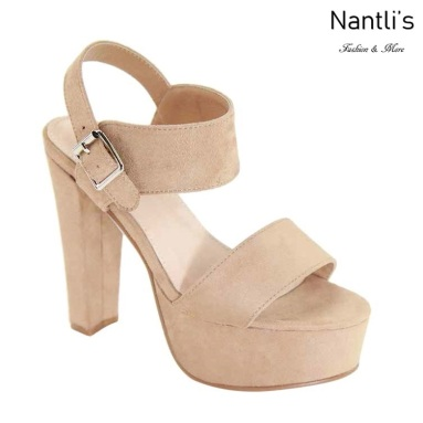 AN-Fina-10 Natural Zapatos de Mujer Mayoreo Wholesale Women Shoes Nantlis