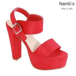 AN-Fina-10 Red Zapatos de Mujer Mayoreo Wholesale Women Shoes Nantlis