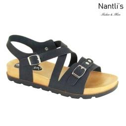 AN-Fonsi-1 Black Zapatos de Mujer Mayoreo Wholesale Women Shoes Nantlis