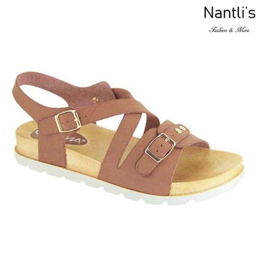 AN-Fonsi-1 Chesnut Zapatos de Mujer Mayoreo Wholesale Women Shoes Nantlis