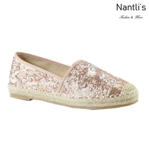 AN-Freddy Champagne Zapatos de Mujer Mayoreo Wholesale Women Shoes Nantlis
