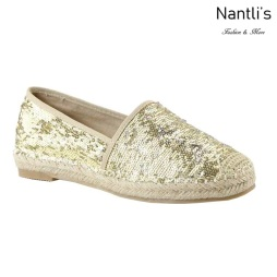 AN-Freddy Gold Zapatos de Mujer Mayoreo Wholesale Women Shoes Nantlis