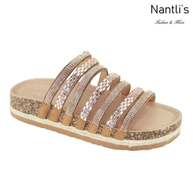 AN-Giada Rose Gold Zapatos de Mujer Mayoreo Wholesale Women Shoes Nantlis