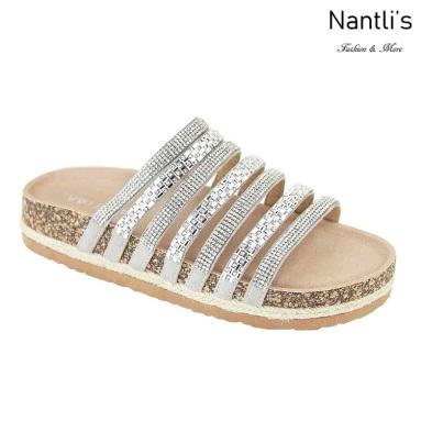 AN-Giada Silver Zapatos de Mujer Mayoreo Wholesale Women Shoes Nantlis