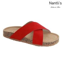 AN-Gibson Red Zapatos de Mujer Mayoreo Wholesale Women Shoes Nantlis