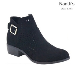 AN-Gilmore-25 Black Botas de mujer Mayoreo Wholesale womens Boots Nantlis