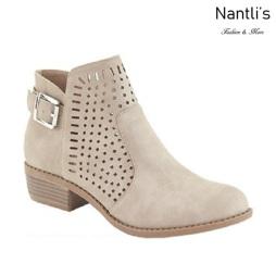 AN-Gilmore-25 Taupe Botas de mujer Mayoreo Wholesale womens Boots Nantlis