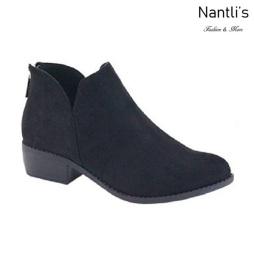 AN-Gilmore-30 Black Botas de mujer Mayoreo Wholesale womens Boots Nantlis