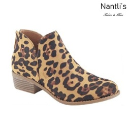 AN-Gilmore-30 Leopard Botas de mujer Mayoreo Wholesale womens Boots Nantlis