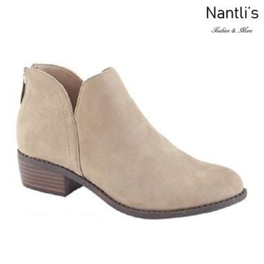 AN-Gilmore-30 Taupe Botas de mujer Mayoreo Wholesale womens Boots Nantlis