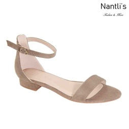 AN-Ginia-10 Taupe Zapatos de Mujer Mayoreo Wholesale Women Shoes Nantlis