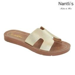 AN-Greece Gold Zapatos de Mujer Mayoreo Wholesale Women Shoes Nantlis