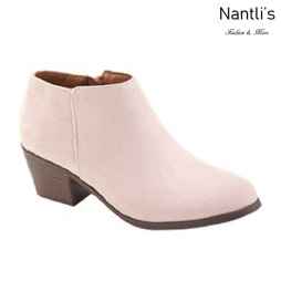 AN-Halo-1k Dusty Pink Botas de nina Mayoreo Wholesale girls Boots Nantlis