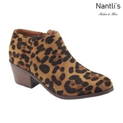AN-Halo-1k Leopard Botas de nina Mayoreo Wholesale girls Boots Nantlis