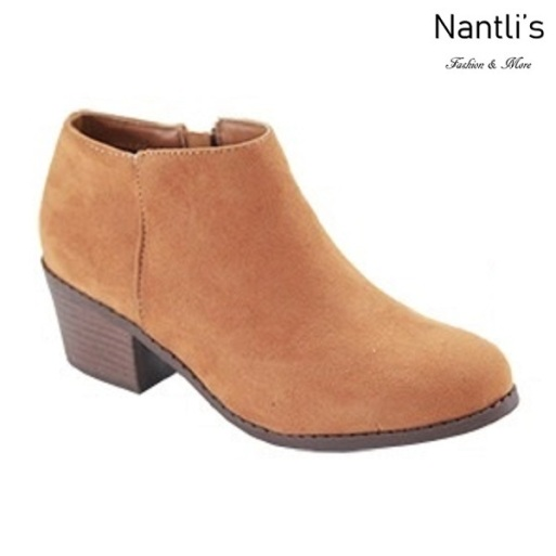 AN-Halo-1k Tan Botas de nina Mayoreo Wholesale girls Boots Nantlis
