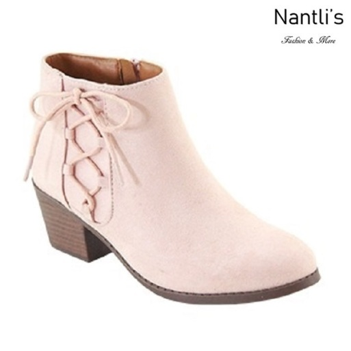 AN-Halo-5k Dusty Pink Botas de nina Mayoreo Wholesale girls Boots Nantlis