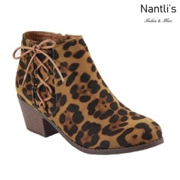 AN-Halo-5k Leopard Botas de nina Mayoreo Wholesale girls Boots Nantlis