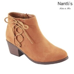 AN-Halo-5k Tan Botas de nina Mayoreo Wholesale girls Boots Nantlis