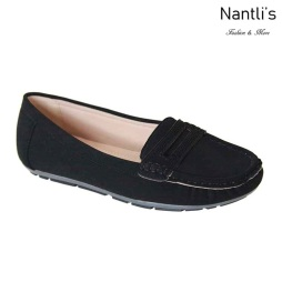 AN-Harlo Black Zapatos de Mujer Mayoreo Wholesale Women Shoes Nantlis