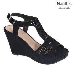 AN-Harper Black Zapatos de Mujer Mayoreo Wholesale Women Shoes Nantlis