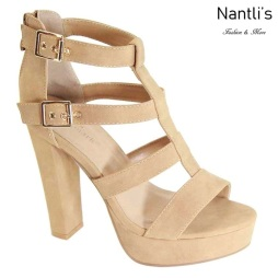 AN-Hermosa Camel Zapatos de Mujer Mayoreo Wholesale Women Shoes Nantlis