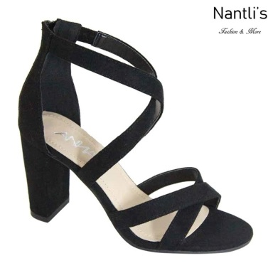 AN-Hinges-10 Black Zapatos de Mujer Mayoreo Wholesale Women Shoes Nantlis