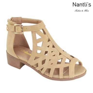 AN-Ibbie-10k Nude Zapatos de nina Mayoreo Wholesale girls Shoes Nantlis