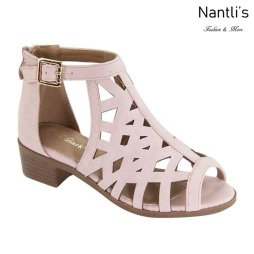 AN-Ibbie-10k Pink Zapatos de nina Mayoreo Wholesale girls Shoes Nantlis